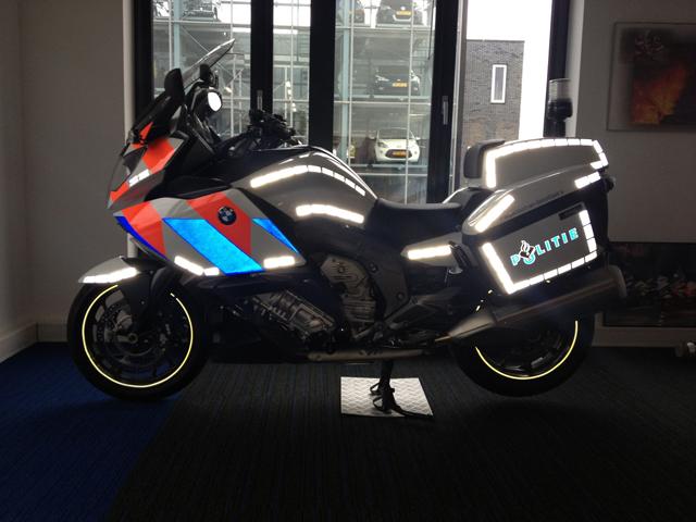 Multi Design Reclame - Motorwrap Politie