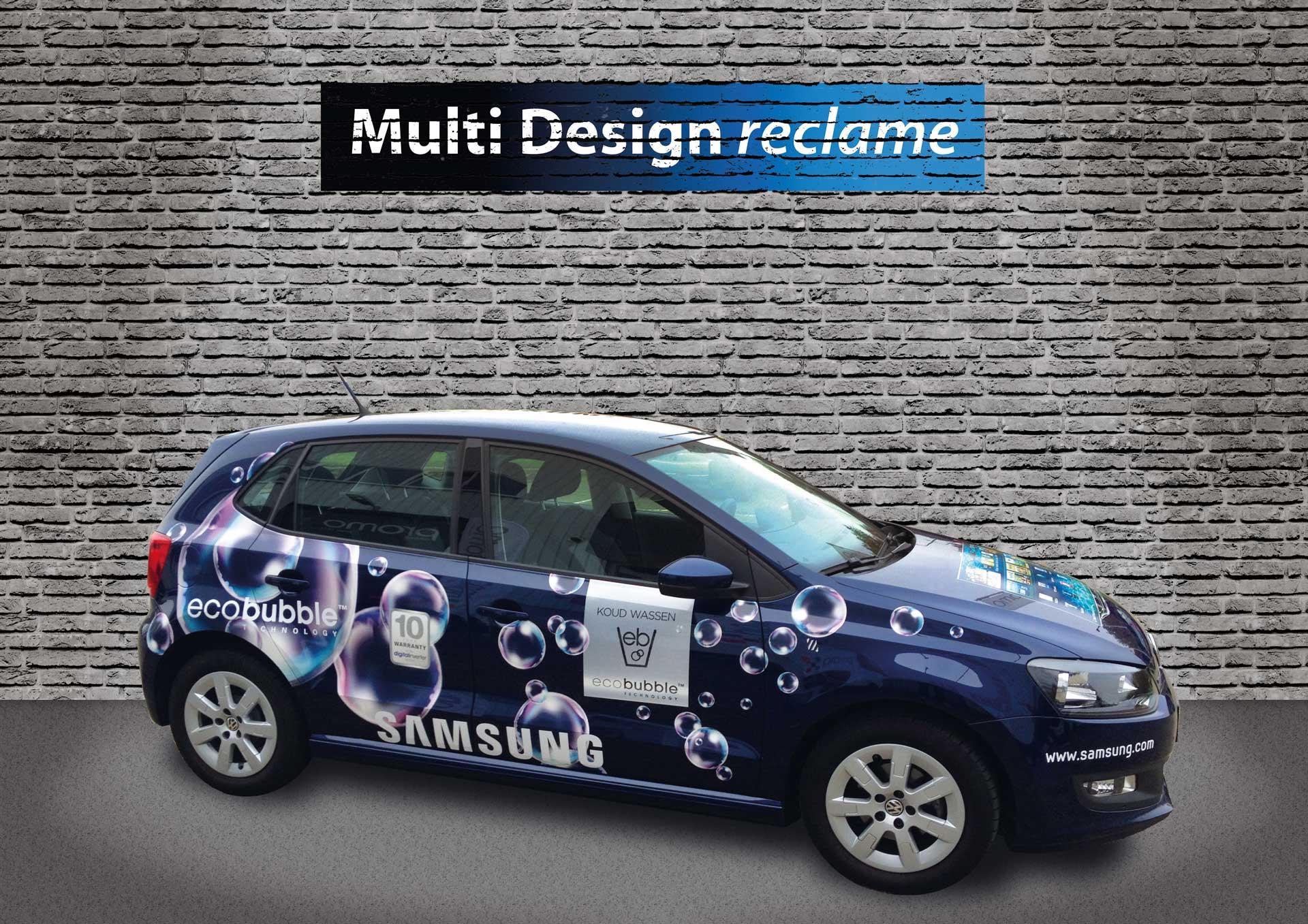Multi Design Reclame - Autoreclame - Samsung