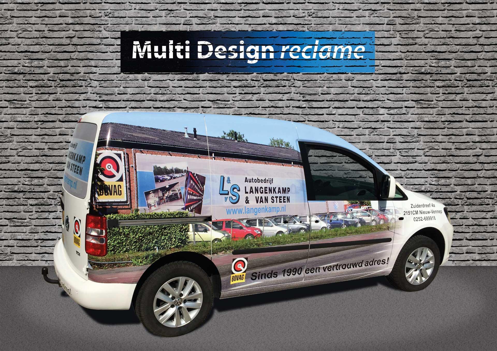 Multi Design Reclame - Autowrap SBS6 Ultieme Woondroom