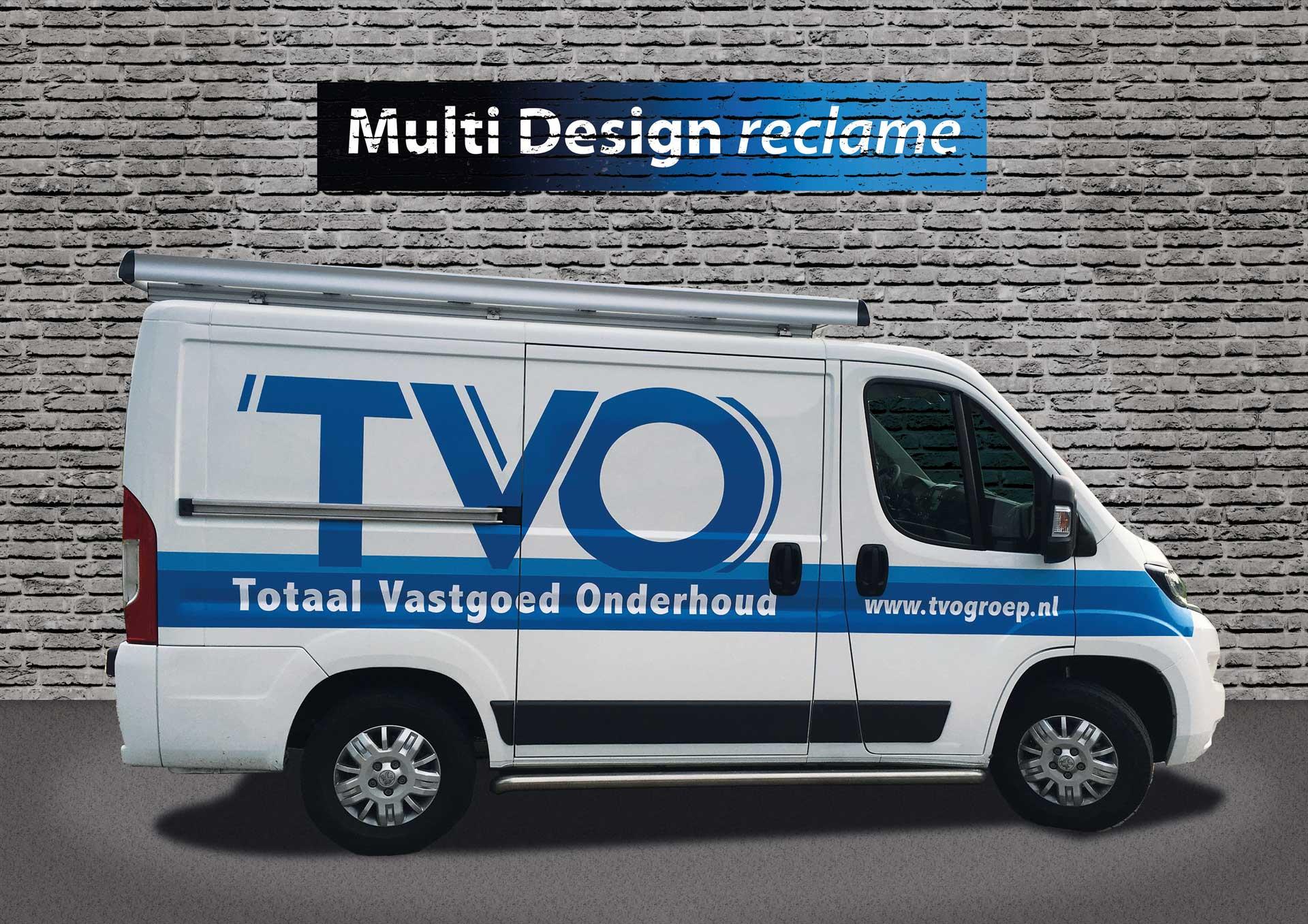 Multi Design Reclame - Autoreclame - TVO