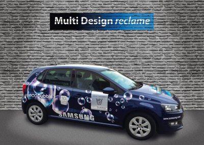 Autoreclame MultiDesign reclame Samsung