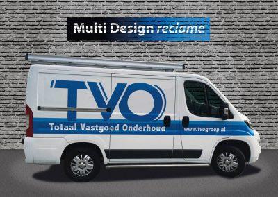 autoreclame TVO belettering